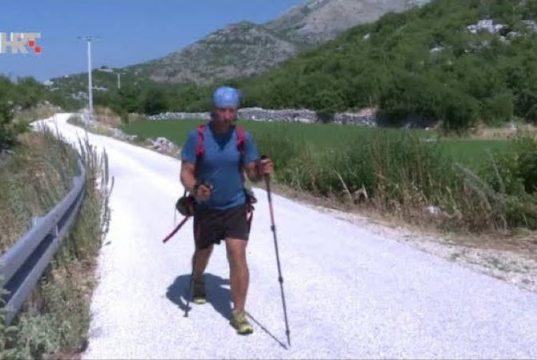 HUMANITARNA AKCIJA: Mario Carek – Milijun koraka za Udrugu Latice iz Koprivnice [VIDEO]