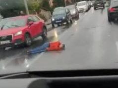 ZAGREB DANAS: Čovjek ležao na mokrom asfaltu